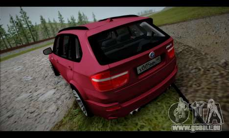 BMW X5M für GTA San Andreas rechten Ansicht