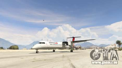 GTA 5 Bombardier Dash 8Q-400