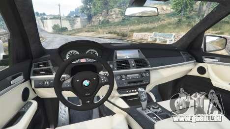 GTA 5 BMW X5 M hinten rechts