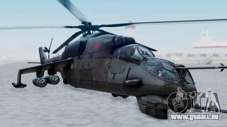 Mi-24V Russian Air Force 39 pour GTA San Andreas