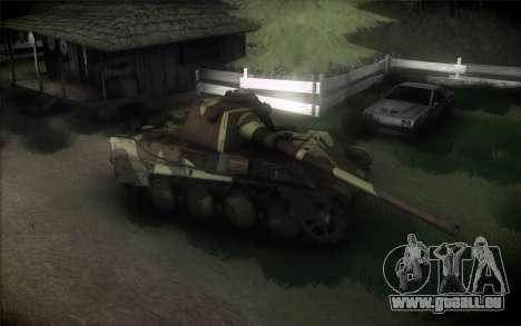 Panther II für GTA San Andreas zurück linke Ansicht