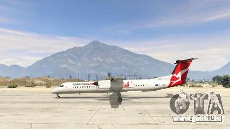 GTA 5 Bombardier Dash 8Q-400 deuxième capture d'écran