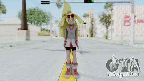 Pokémon XY Series - Korrina v2 für GTA San Andreas zweiten Screenshot