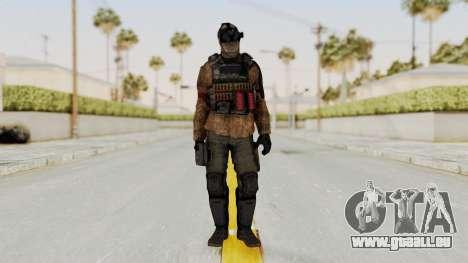 CoD AW KVA Shotgun für GTA San Andreas zweiten Screenshot
