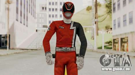 Power Rangers S.P.D - Red pour GTA San Andreas