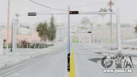 Star Wars LightSaber Blue für GTA San Andreas zweiten Screenshot