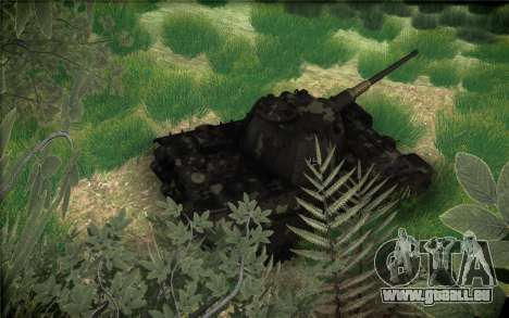 Panther II pour GTA San Andreas vue de côté