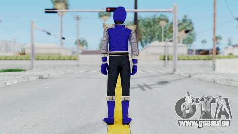 Power Rangers Ninja Storm - Navy für GTA San Andreas dritten Screenshot