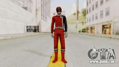 Power Rangers S.P.D - Red für GTA San Andreas zweiten Screenshot