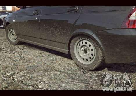 GTA 5 VAZ 2170 arrière vue latérale gauche