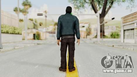 Wanted Weapons Of Fate Chicago Grunt Masked für GTA San Andreas dritten Screenshot