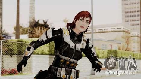 Mass Effect 3 Female Shepard Ajax Armor für GTA San Andreas