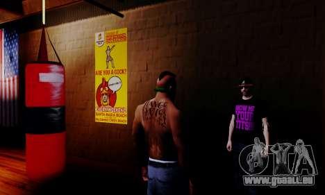 Le vendeur de stéroïdes dans la salle de gym pour GTA San Andreas