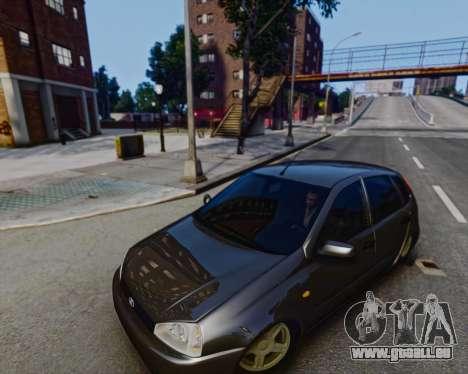 Lada Kalina für GTA 4 linke Ansicht