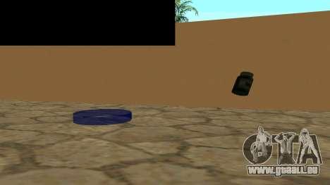 Remplacer les icônes et sauver des vies pour GTA San Andreas troisième écran