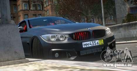 BMW 435i Coupe für GTA 4 rechte Ansicht