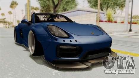 Porsche Boxster Liberty Walk für GTA San Andreas rechten Ansicht
