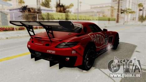 Mercedes-Benz SLS AMG GT3 PJ1 pour GTA San Andreas salon
