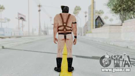 Manhunt 2 - Gimp Bouncer für GTA San Andreas dritten Screenshot