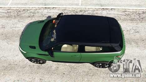 Range Rover Evoque v2.0 für GTA 5