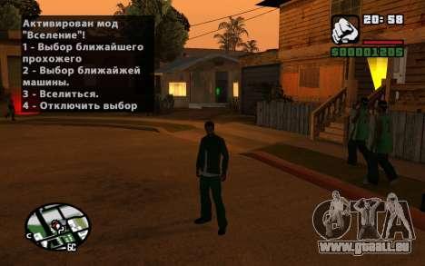 CJ Animation ped pour GTA San Andreas