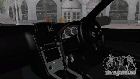 Nissan Skyline R34 GTR 2002 V-Spec II S-Tune für GTA San Andreas Seitenansicht