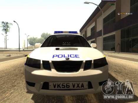 SAAB 9-2 Aero Turbo Generic UK Police für GTA San Andreas linke Ansicht