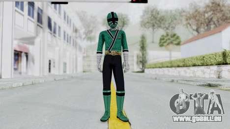 Power Rangers Samurai - Green für GTA San Andreas zweiten Screenshot