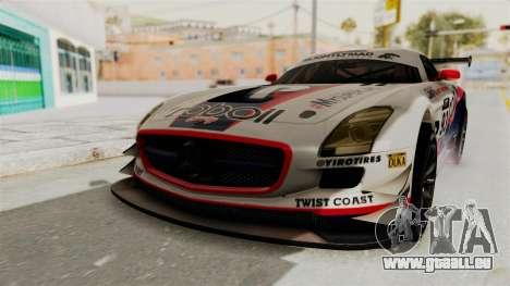 Mercedes-Benz SLS AMG GT3 PJ1 pour GTA San Andreas moteur