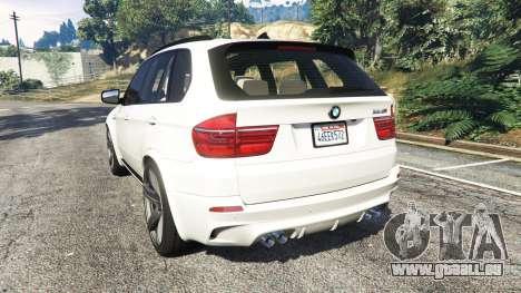 GTA 5 BMW X5 M hinten links Seitenansicht