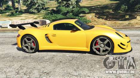 GTA 5 Ruf CTR3 v1.1 linke Seitenansicht