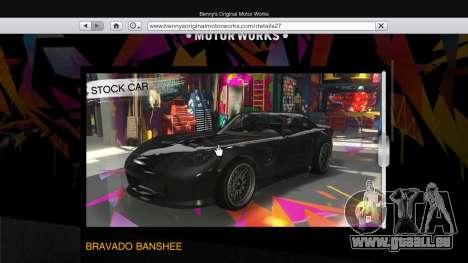 GTA 5 Der body-shop-benny ' s im single-Modus zweite Screenshot