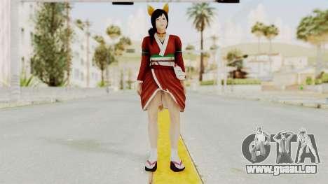 DoA5 Ultimate Kokoro Halloween 2014 Kitty pour GTA San Andreas deuxième écran