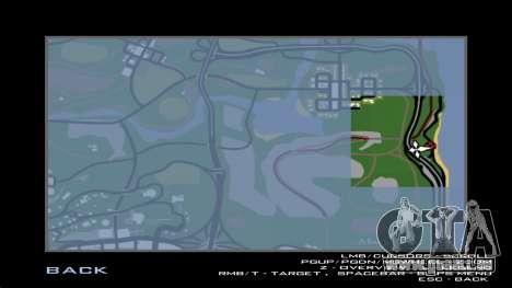 La construction du pont, et la forêt dense pour GTA San Andreas douzième écran