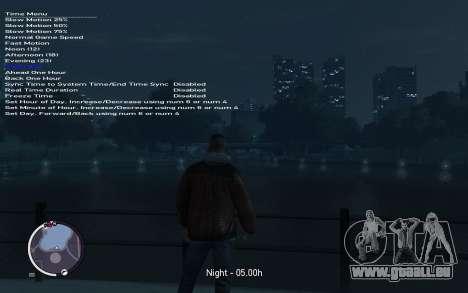Native Trainer GTA EFLC ENG [STEAM] für GTA 4 sechsten Screenshot