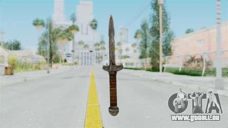 Skyrim Iron Dager pour GTA San Andreas