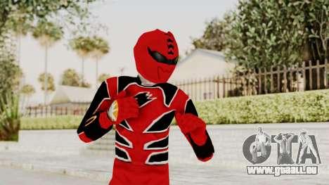 Power Rangers Jungle Fury - Red für GTA San Andreas