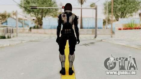 Mass Effect 3 Miranda Short Hair Ajax Armor für GTA San Andreas dritten Screenshot