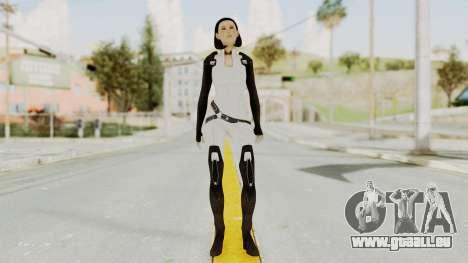 ME3 Dr. Eva Custom Miranda Castsuit pour GTA San Andreas deuxième écran