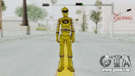 Power Rangers Dino Thunder - Yellow pour GTA San Andreas deuxième écran