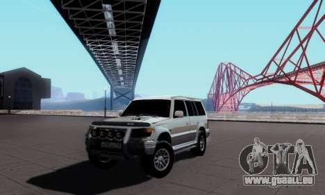 Mitsubishi Pajero 2 pour GTA San Andreas