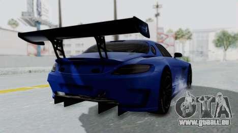 Mercedes-Benz SLS AMG GT3 PJ5 pour GTA San Andreas laissé vue