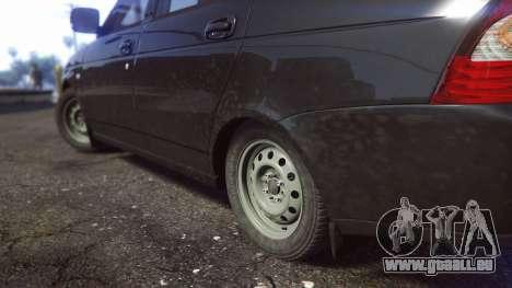 GTA 5 VAZ 2170 vue arrière