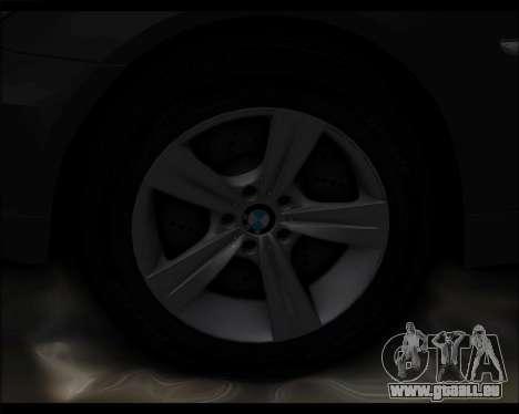 BMW 530xd stock für GTA San Andreas Innenansicht