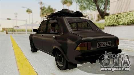 Zastava 101 pour GTA San Andreas laissé vue