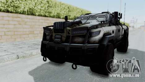 Advanced Warfare Tactical Pickup für GTA San Andreas