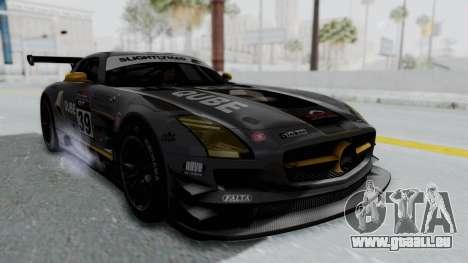 Mercedes-Benz SLS AMG GT3 PJ5 pour GTA San Andreas vue de côté
