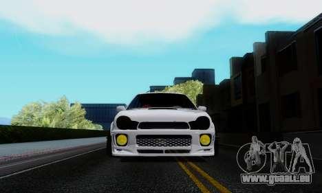 Subaru Impreza WRX STi Wagon Stens für GTA San Andreas Rückansicht