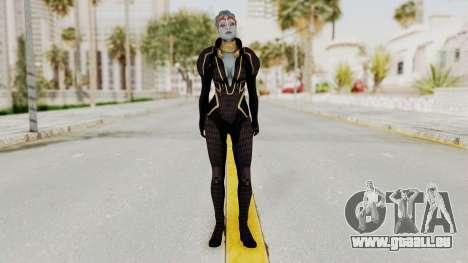 Mass Effect 2 Samara Black pour GTA San Andreas deuxième écran