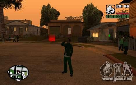 CJ Animation ped pour GTA San Andreas sixième écran
